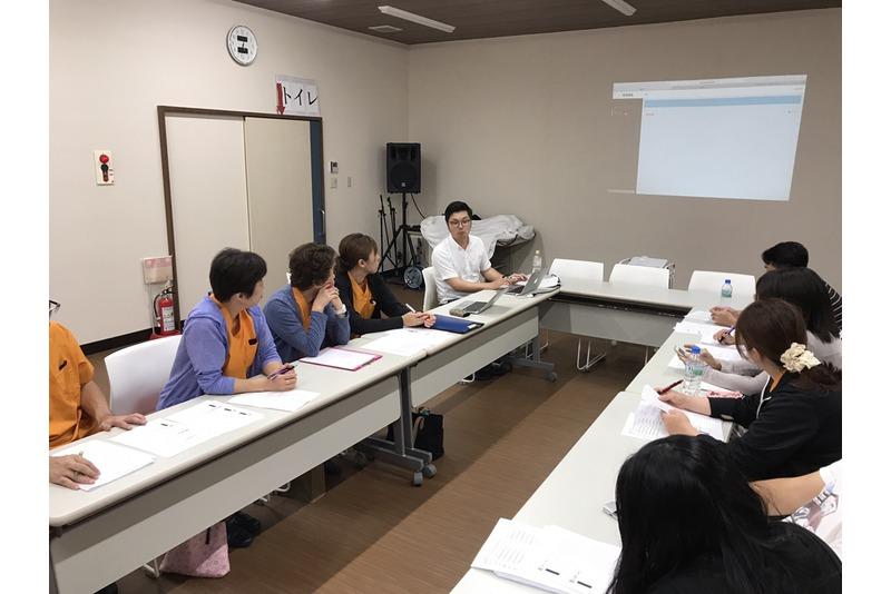 主任会議開催しました。ブログの使い方を勉強しました。
