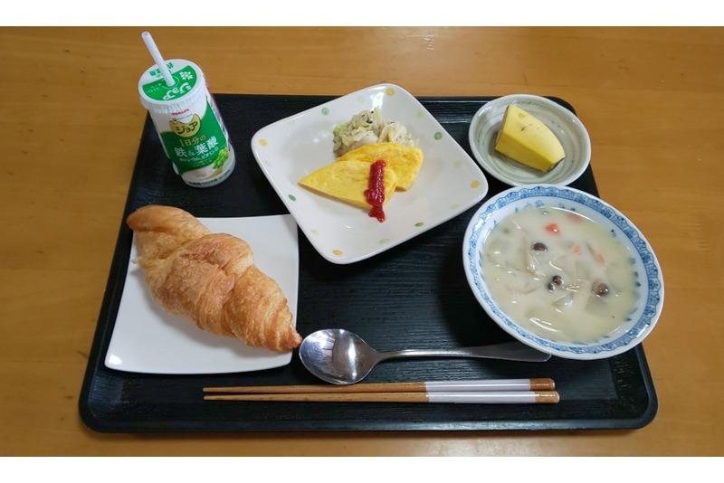 本日の朝食 🍴